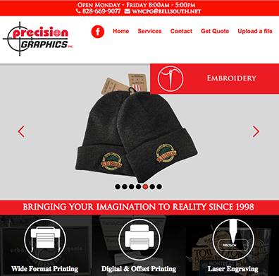 Web Design Precision Graphics